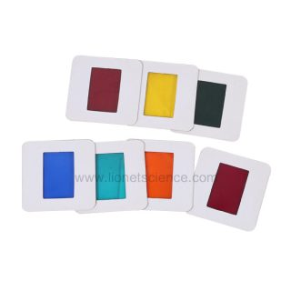 1006011 Set of Seven Color Filter mounted